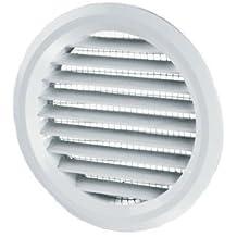 Vents - Rejilla para tubo de ventilación (incluye red y brida)
