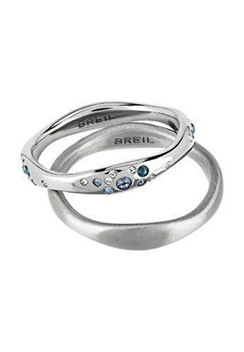 BREIL Anello Donna collezione ILLUSION con pietre multiple in crystal jewellery