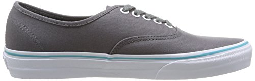 Vans U Authentic Sneakers, Unisex Adulto Blu (Gargoyle/Blue Curacao)