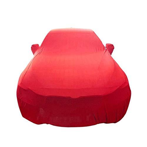 POLKMN Bâche Voiture Sedan Couverture Rouge Plein de Voitures...
