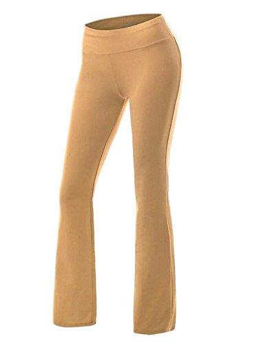 Zkoo donne pantaloni lunghi yoga pantaloni danza del ventre pantaloni allenamento diversi formati e colori s