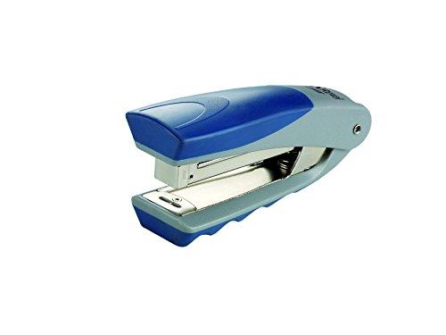 rexel-centor-half-strip-stapler-73mm-throat-depth-silver-blue-25-sheet-capacity
