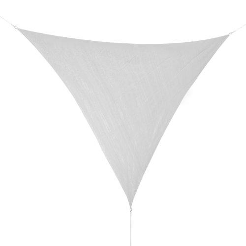 Corasol COR10 Voile d'ombrage perméable 3,6 x 3,6 x 3,6 m gris
