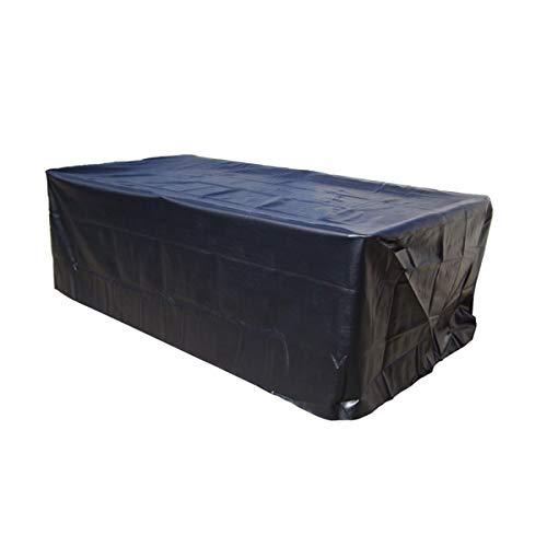 GEMITTO 7/8/9 ft Strapazierfähige Wasserdichte Abdeckung für Billard, Snooker, Billardtisch, Staubschutz aus Polyester 287x155x82cm