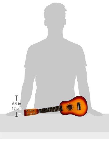 Gitarre / Musikinstrument für Kinder, mit Metallsaiten und Plektrum, geeignet für Kinder ab 3 Jahre - 4