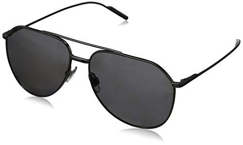Dolce & Gabbana Herren 0DG2166 04/81 57 Sonnenbrille, Grau (Gunmetal/Polargrey),