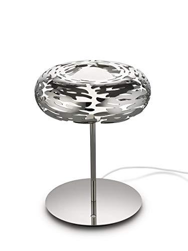 Alessi Barklamp BM11 - Design Tischleuchte aus Edelstahl 18/10