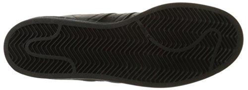adidas Superstar Foundation, Baskets Basses Homme Black/Black/Black