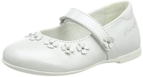 PRIMIGI Baby Mädchen PHE 34183 Ballerinas, Weiß (Bianco 3418311), 21 EU (Schuhe Weiß Baby Leder)