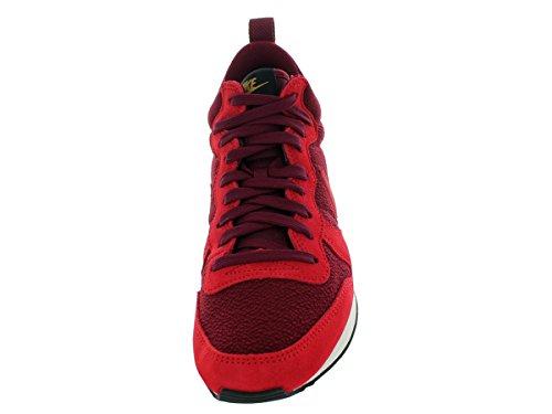 Nike Wmns Internationalist Mid, Baskets Basses Femme Dp Garnet/Gym Rd/Blk/Mtllc Gld