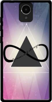 MOBILINNOV Archos Core 50 Pyramide Infinity - Triangle Silikon Hülle Handyhülle Schutzhülle - Zubehor Etui Smartphone Archos Core 50 Accessoires