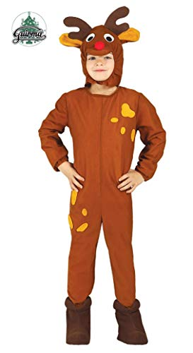 Costume da renna bambino 5-6 anni