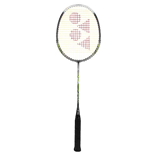 Yonex Muscle Power 2 Badminton Racquet, Silver/Lime(1 Piece)