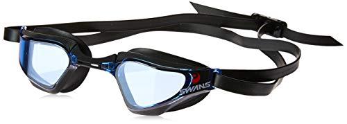 SWANS Valkyrie Racing - getönte Wettkampf Schwimmbrille SR-72N PAF, Farbe:Blue Black (BLBK)