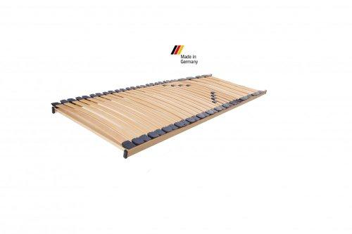 shogazi  Schlafkultur Lattenrost Modell XXL Natur starr, Übergewicht - bis 200kg, sehr komfortabel - Made in Germany, Größe:100x220