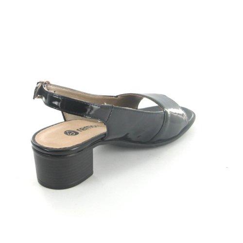 REMONTE R495201 Damen Sandalette Schwarz