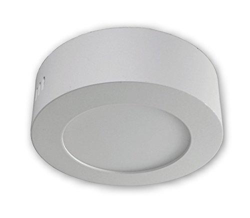6 W LED Aufbauleuchte Lampen Deckenspot 230 V - Weiss