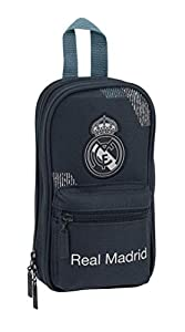 Safta- Estuche Mochila Lleno Real Madrid, Multicolor, Unica (411834747)