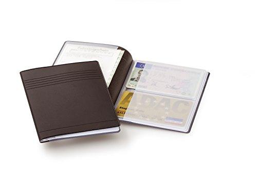 Durable 239701 Hunke und Jochheim Ausweis- und Kreditkartenhülle (für 4 Karten, 54 x 85 mm, und 4 Ausweise 80 x 115 mm) (Inhaber Kunststoff Der Brieftasche, Kreditkarte)