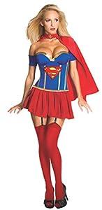 Desconocido Disfraz sexy de Supergirl para mujer