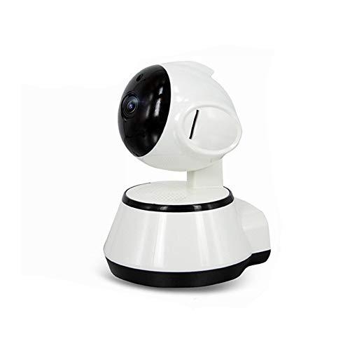 Babyphone tragbare WiFi IP-Kamera 720P HD Wireless Smart Baby-Kamera Audio-Video-Aufzeichnung Überwachung Home Security Camera - Weiß,32GB Tragbare Video-Überwachung