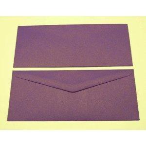 Blanke Briefumschläge 90x220mm 120g/qm gummiert VE=100 Stück glamour violett