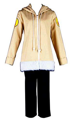 Chong Seng CHIUS Cosplay Costume Hidden Leaf Village Genin Hyuga Hinata Outfit Ver 1 (Hinata Cosplay Uk)