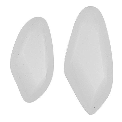 Slibrat 2pcs/Lot Silicone Leaf Necklace Pendant Drop Resin Cake Craft Jewelry Mold -