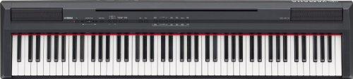 YAMAHA P-105B - PIANO DIGITAL (PLASTICO  88 TECLAS  2 ALTAVOCES INTEGRADOS  CONECTOR TIPO USB)  COLOR NEGRO