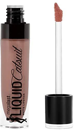 Wet n Wild Megalast flüssiger Lippenstift mit metallischem Finish, farbintensiv, ultralang anhaltend ohne aufzufrischen, Nudie Patootie, 1 Stk, 8,3g - Wet N Wild-vitamine
