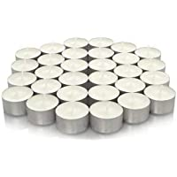 We Can Source It Ltd - 100 x Quality white tea light candles with 8 hour burn time guaranteed European made to ensure quality!