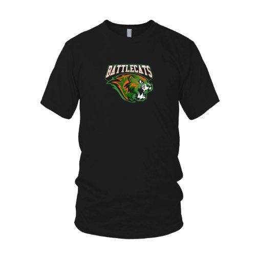 Kostüm Battlecat - MotU: Battle Cats - Herren T-Shirt, Größe: XL, Farbe: schwarz