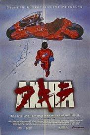 , laminiert, Motiv Akira, rot, (new 2001)-Classic Film POSTER ca. 100 x 70 cm The Greatest Filme Collection Manga japanischer Cyberpunk-Science-Fiction-Film