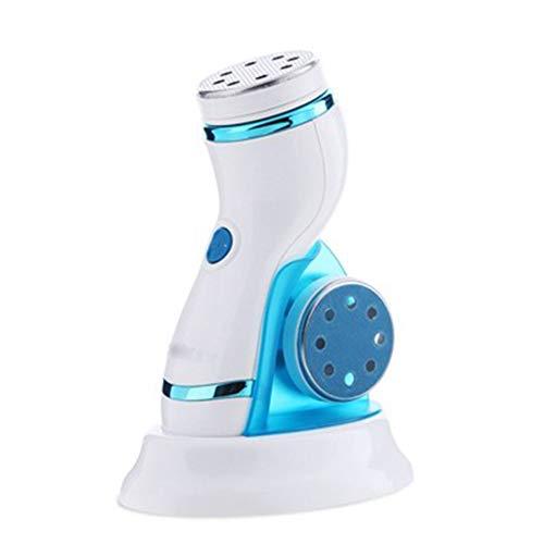 Pedicure elettrico callus remover usb ricaricabili impermeabile wet dry roll lime per pedicure e cura dei piedi per pelle indurita e ruvida ricarica testina a rullo aggiuntiva,rosso blu