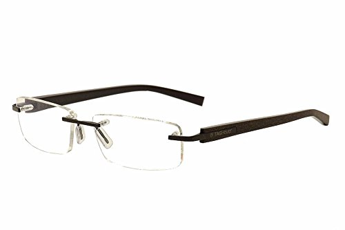 42b03c05f7 Tag Heuer Trends Prescription Eyeglasses - 8104 010 - Chocolate (56-17-140