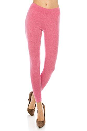 BaumwollSpandex Grund Knit Jersey Regular Plus Size Voll Capri Gamaschen-Hosen Full H. Red
