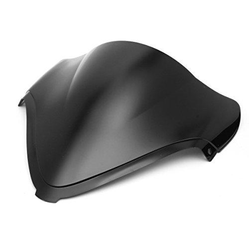YONGYAO Pare-Vent Windscreedn Double Bulle pour Suzuki Gsx1300R Gsxr1300 Hayabusa 08-14