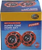 Hella - Supertone Horn Set (High & Low) 12V for Cars and Bikes