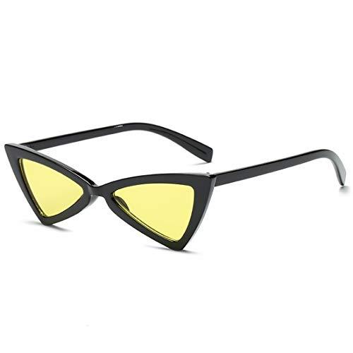 Shiduoli Dreieckige modische Sonnenbrillen-Trendbrille für Männer, Frauen (Color : E)