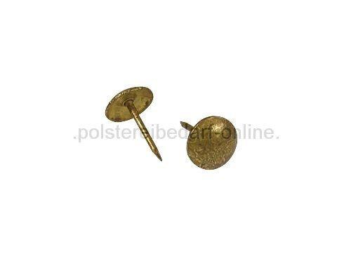Polsternägel Altgold gefleckt 110 1/3 250 Stück 10,5mm