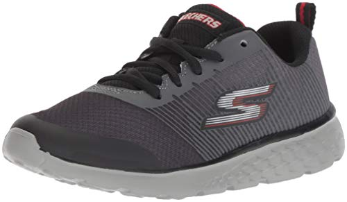 6c92997f259 Skechers Go Run 400-Fast Pace, Zapatillas para Niños, Gris (Charcoal/