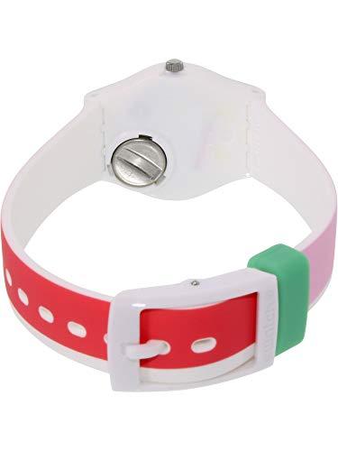 Swatch Damen Armbanduhr Digital Quarz Silikon LW146 - 3