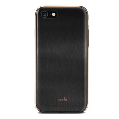 Moshi 99mo088203iGlaze Coque pour iPhone 8/7Armour Noir