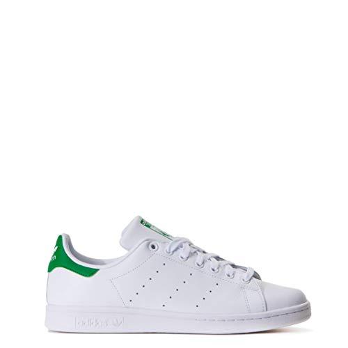 adidas Originals Stan Smith M20324, Unisex-Erwachsene Basketballschuhe, Weiß (Running White/Running White/Fairway), 41 1/3 EU