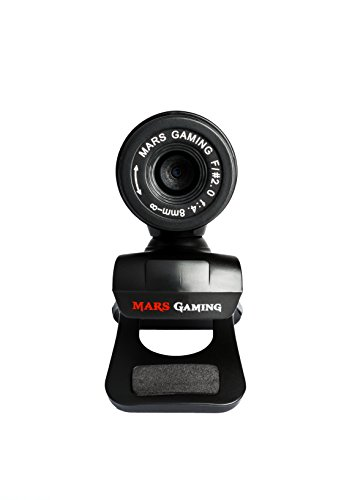 Gaming-Webcam Tacens Mars MW1 HD 720p Clip Schwarz