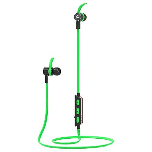 Sport Bluetooth Kopfhörer FusionTech® Bluetooth 4.1 Stereo Sport Kabellos Kopfhörer Running Fitness Schweiß-Kopfhörer mit eingebautem Mikrofon für iPhone, Samsung, Android Smartphones
