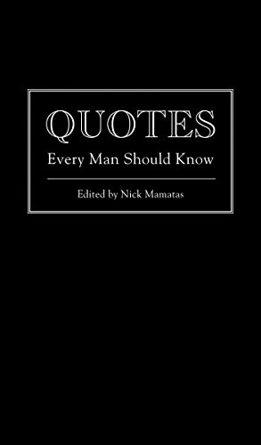 PDF] Download Quotes Every Man Should Know (Stuff You Should