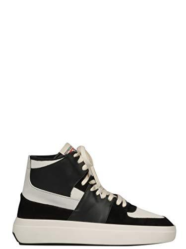 REPRESENT Herren 111Alphamidblack Schwarz Leder Hi Top Sneakers