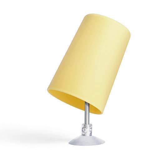 UANDM Drenaje Cepillo de Dientes Taza de plástico Anti-Escala Creativo Colgante de Pared Ventosa Taza de Lavado Taza de Secado en la Boca 1 Paquete (Color : Yellow)