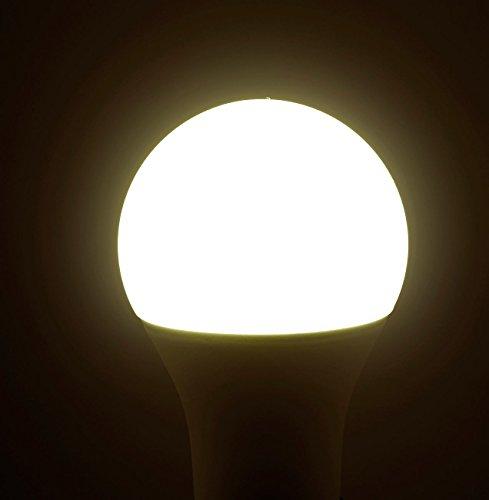 Luminea WiFi LED: WLAN-LED-Lampe, komp. mit Alexa Voice Service, E27, RGBW, 10 Watt, A+ (WLAN Leuchtmittel) - 8